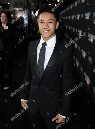 "Brandon Soo Hoo arrives at the Los Angeles premiere of ""Ender's Game"" at TCL Chinese Theatre on"