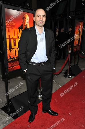 """Jay Giannone arrives on the red carpet at the premiere of """"How I Live Now"""" at the ArcLight on in Los Angeles"""
