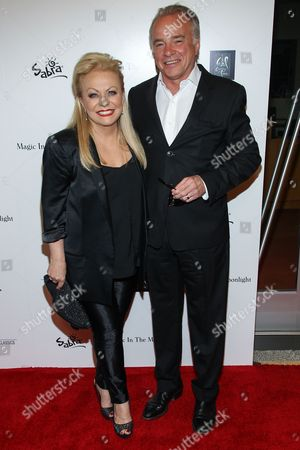 """Jackie Weaver, left, and Sean Taylor attend a special screening of """"Magic In The Moonlight"""" at the Pickford Center for Motion Picture Studio / Linwood Dunn Theatre, in Hollywood, Calif"""
