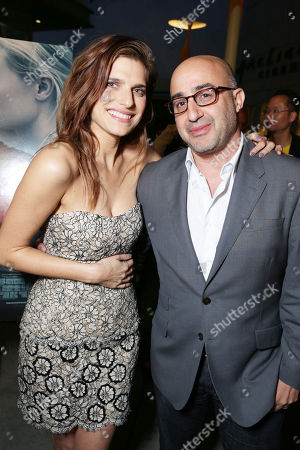 Lake Bell and President of LD Entertainment David Dinerstein at the LD Entertainment Special Screening of Black Rock, on Wednesday, May, 8, 2013 in Los Angeles