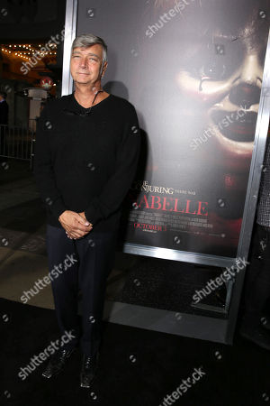 """Director John R. Leonetti seen at the Los Angeles Special Screening of New Line Cinema's """"Annabelle"""", in Hollywood"""