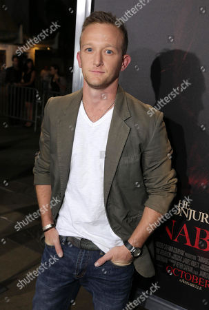 """Eric Ladin seen at the Los Angeles Special Screening of New Line Cinema's """"Annabelle"""", in Hollywood"""