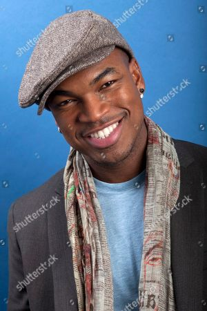 Stock Image of American Grammy Award winning R&B singer-songwriter, record producer, dancer and actor Shaffer Chimere Smith, better known by his stage name Ne-Yo, poses for a portrait on in New York
