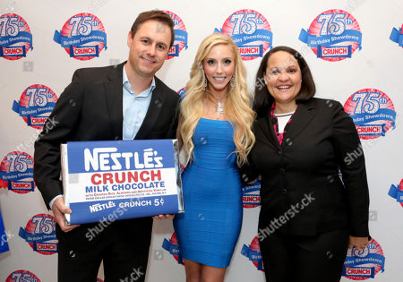 Editorial picture of Nestle Crunch 75th Birthday Showdown, Los Angeles, USA - 27 Mar 2013