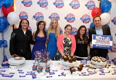 Editorial photo of Nestle Crunch 75th Birthday Showdown, Los Angeles, USA - 27 Mar 2013