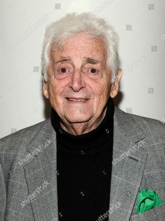 """Harry Benson attends the premiere of """"Harry Benson: Shoot First"""", hosted by The Cinema Society, at City Cinemas Beekman Theatre, in New York"""