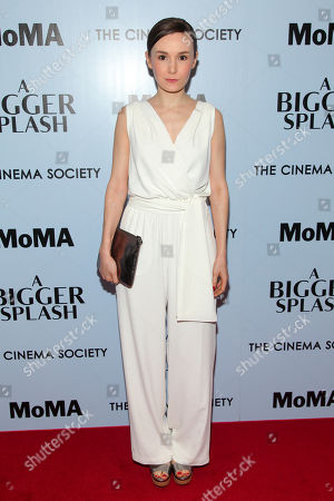 """Libby Woodbridge attends a special screening of """"A Bigger Splash"""" at the Museum Of Modern Art, in New York"""
