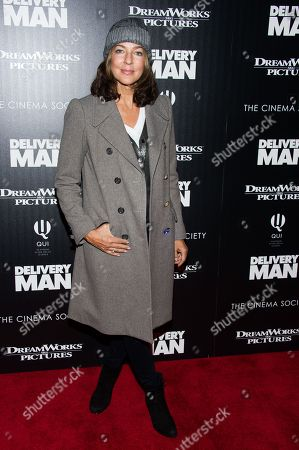 """Kelly Klein attends a screening of """"Delivery Man"""" hosted by The Cinema Society and DreamWorks Pictures on in New York"""
