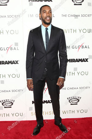 """Actor Parker Sawyers attends a special screening of """"Southside With You"""" at the Landmark Sunshine Cinema, in New York"""