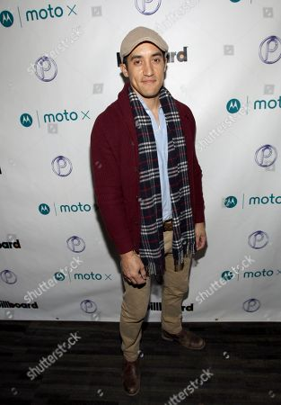 Keahu Kahuanui is seen at PCL Day Lounge Day 2 on in Park City, Utah