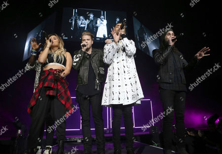 Editorial image of Pentatonix In Concert - , Atlanta, USA - 16 Nov 2016