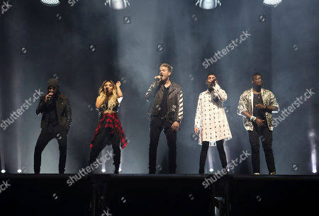 Editorial picture of Pentatonix In Concert - , Atlanta, USA - 16 Nov 2016