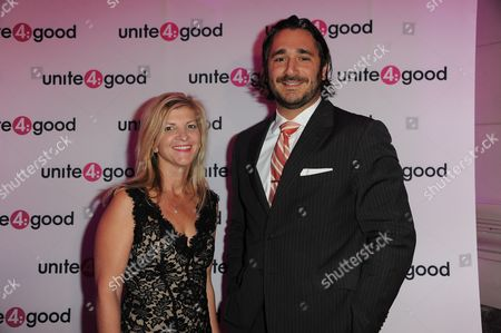 Unite 4:good - The Global Movement for Humanity at Residence of Baronness Von Bismark Red Carpet: Sergio Fernando de Cordoba - Danielle Alexandra