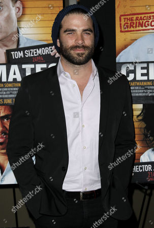 """Stock Image of Alejandro Nones attends the """"Cellmates"""" premiere on in West Hollywood, Calif"""