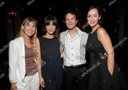 Julia Verdin, Ilse Salas, Mario Corona and Gabriela De La Garza attend the after party for the premiere of Pantelion Film's 'Cantinflas' at the Roosevelt Hotel on in Los Angeles