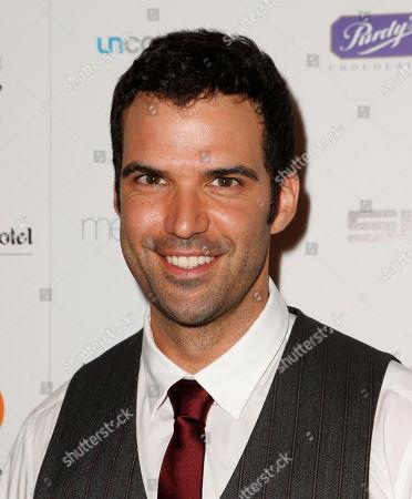 Benjamin Ayres attends the Producers Ball 2012 at the Shangri-La Toronto, in Toronto, Canada