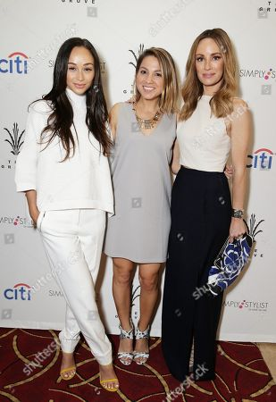 Lauren Gores Ireland, Simply Inc. Founder Sarah Boyd and Catt Sadler seen at Simply Stylist â?˜Do What You Love' Fashion & Beauty Conference Presented by CITI and The Grove, in Los Angeles, CA