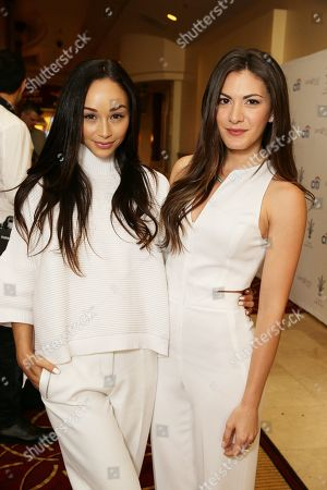 Stock Picture of Cara Santana and Lauren Gores Ireland seen at Simply Stylist â?˜Do What You Love' Fashion & Beauty Conference Presented by CITI and The Grove, in Los Angeles, CA