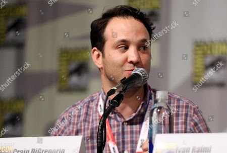 "Showrunner Craig DiGregorio, from the STARZ original series ""Ash vs Evil Dead"", speaks during the show's panel at San Diego Comic-Con on in San Diego"