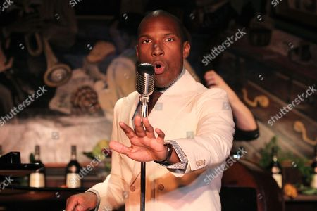 Noah Stewart performs at Minton's presented bye Hennessy Privilige on in New York