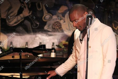 Noah Stewart performs at Minton's presented bye Hennessy Privilege on in New York