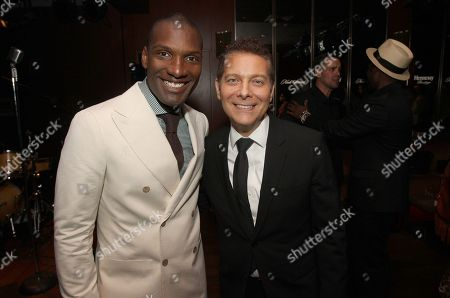 Noah Stewart and Michael Feinstein attend a special performance of Noah Stewart at Minton's presented bye Hennessy Privilege on in New York