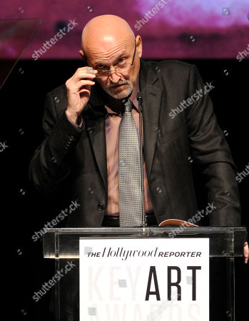 Frank Darabont presents the Saul Bass award at The Hollywood Reporter Key Art Awards Powered by Clio at the Dolby Theatre, in Los Angeles