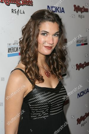 Stock Picture of Teri Reeves arrives at the Rolling Stone American Music Awards After Party, on in Los Angeles
