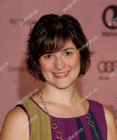 Sandra Fluke arrives at The Hollywood Reporter's Women in Entertainment breakfast at The Beverly Hills Hotel, in Beverly Hills, Calif