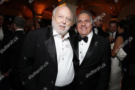 Andrew G. Vajna and Jim Gianopulos, President and CEO of Twentieth Century Fox, seen at Twentieth Century Fox Academy Awards Party, in Los Angeles, CA