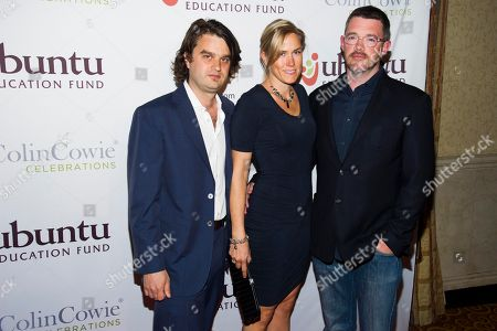 Jacob Lief, left, Kristi Law and Kevin Law attend Ubuntu Education Fund 2013 Gala on in New York