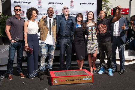 Editorial image of Vin Diesel Hand And Footprint Ceremony, Los Angeles, USA - 1 Apr 2015