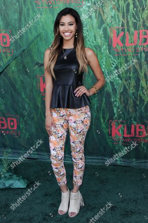 "Kara Royster attends the premiere of ""Kubo and the Two Strings"" at Universal City Walk, in Universal City, Calif"