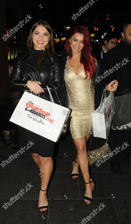Chloe Hewitt and Dianne Buswell
