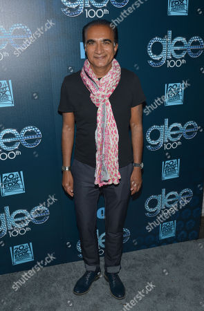 "Iqbal Theba arrives at the ""GLEE"" 100th Episode Celebration,, in West Hollywood, Calif"