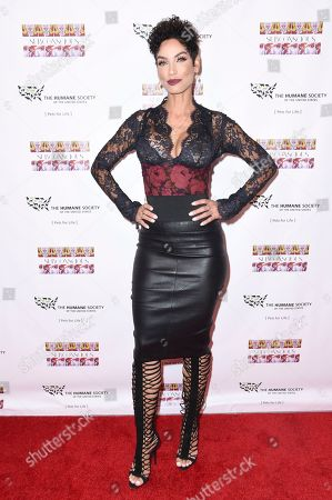 """Nicole Murphy attends """"Subconscious"""" by Bria Murphy Gallery Opening at Lace Gallery, in Los Angeles"""
