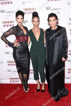 """Nicole Murphy, Bria Murphy, Kris Jenner attend """"SUBCONSCIOUS"""" by Bria Murphy Gallery Opening at Lace Gallery, in Los Angeles"""