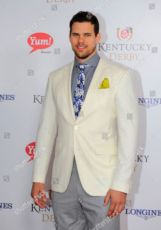 Kris Humphries is photographed at the 140th Kentucky Derby in Louisville Ky