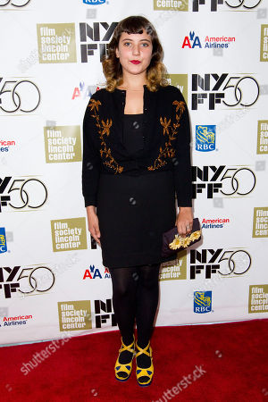 "SEPTEMBER 30: Hannah Dunne attends the premiere of ""Frances Ha"" during the 50th annual New York Film Festival at Alice Tully Hall on in New York"