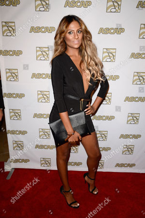 Stock Photo of Candice Pillay arrives at the 26th Annual ASCAP Rhythm & Soul Music Awards, in Beverly Hills, Calif