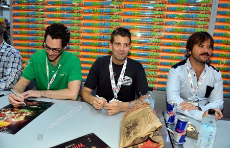 Editorial picture of 2013 Comic-Con - FX Wilfred Booth Signing, San Diego, USA - 18 Jul 2013