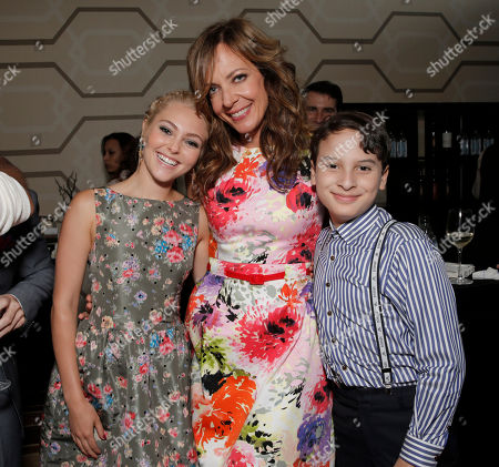 Stock Picture of AnnaSophia Robb, Allison Janney and River Alexander attends the premiere of Fox Searchlight Pictures' 'The Way, Way Back' after party at L.A. Live Event Deck on in Los Angeles. EXCLUSIVE
