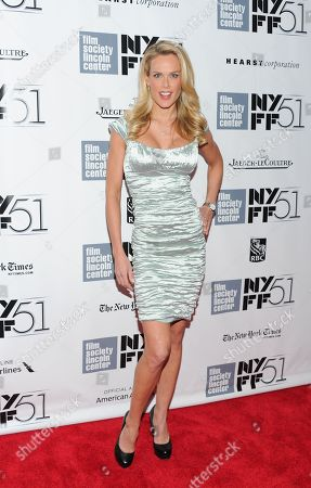 """Stock Photo of Heidi Albertsen attends the 51st annual New York Film Festival closing night screening of """"Her"""" at Alice Tully Hall on in New York"""