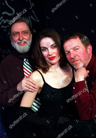 Editorial photo of Actress Sarah Redmond. With All The Plays In The West End Involving Actresses Disrobing Somebody Was Bound To Do A Spoof And Sarah Redmond Will Be Doing That At The King''s Head In Islington In The Play ''beauty And The Beards.'' Left To Right: Dick