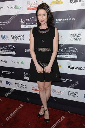 Hayley Westenra arrives at the 2015 LA Italia Film Festival Opening Night, in Los Angeles