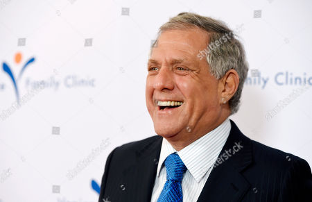 Honoree Les Moonves, president and CEO of CBS Corporation, arrives at the 2015 Silver Circle Gala at the Beverly Wilshire Hotel, in Beverly Hills, Calif