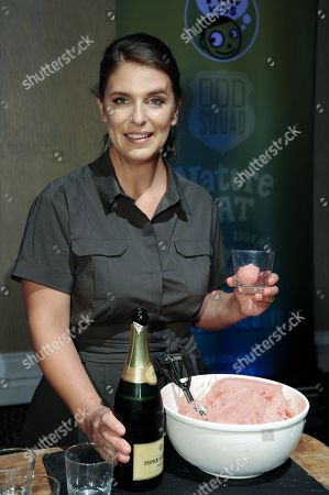 """Chef Vivian Howard during """"A CHEFâ?™S LIFE """" Dessert receptionp at the PBS 2015 Summer TCA Tour held at the Beverly Hilton Hotel on in Beverly Hills, Calif"""