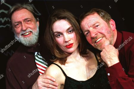 Actress Sarah Redmond. With All The Plays In The West End Involving Actresses Disrobing Somebody Was Bound To Do A Spoof And Sarah Redmond Will Be Doing That At The King's Head In Islington In The Play 'beauty And The Beards.' Left To Right: Dick Vosburgh Sarah Redmond And Denis King