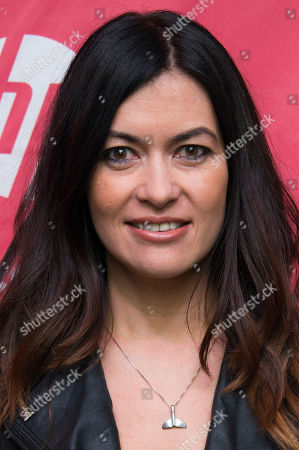 """Race car driver Leilani Munter attends the premiere of """"Racing Extinction"""" during the 2015 Sundance Film Festival, in Park City, Utah"""