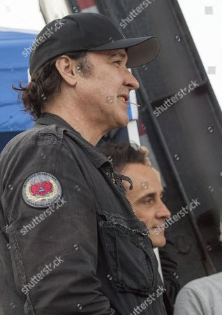 """Actor John Cusack seen at the 2016 Pitchfork Music Festival, watching Brian Wilson performing the classic Beach Boys album """"Pet Sounds"""" on in Chicago"""